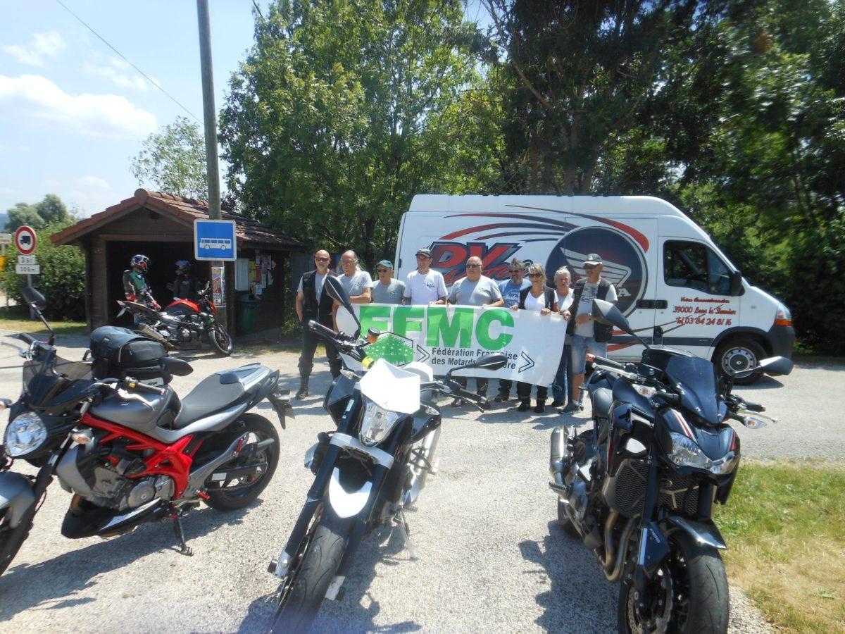 Entre 400 et 500 moto pour le 2e «relais motards calmos»