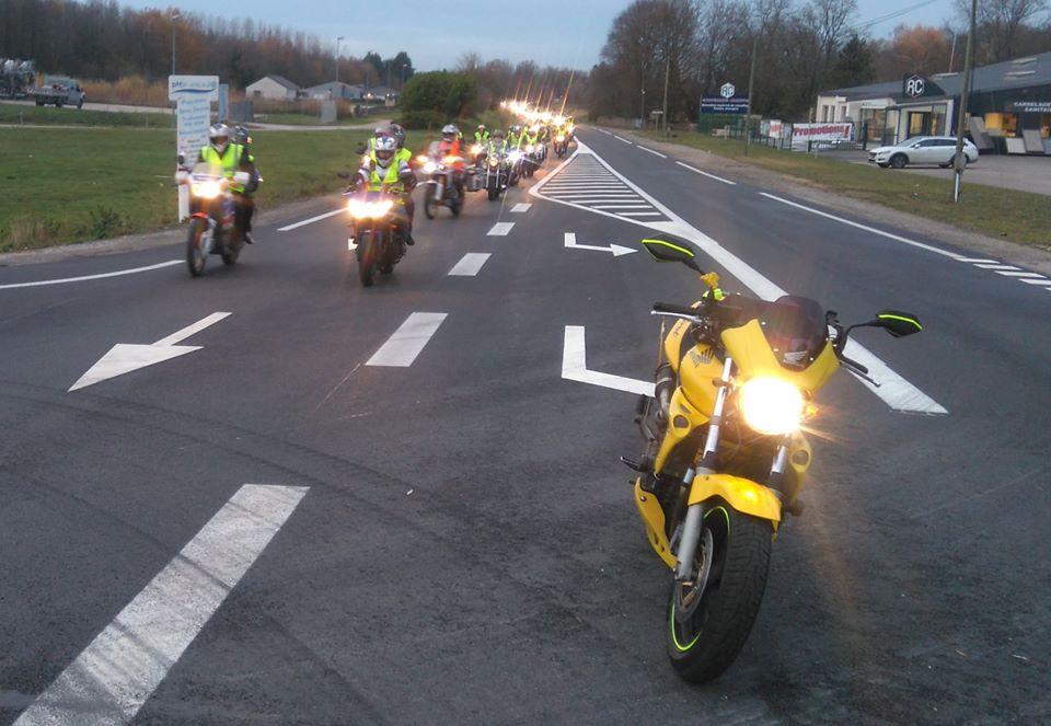 Nouvelle manifestation de motards aux gilets jaunes samedi 8 décembre