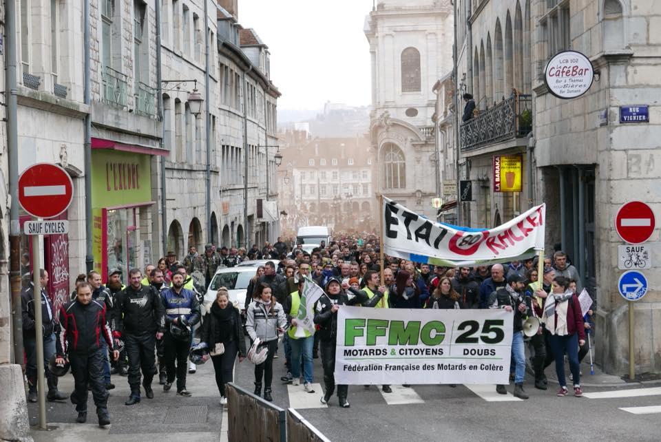 Retour aux 90 km/h: la FFMC 39 interpelle le Conseil départemental du Jura et les députés
