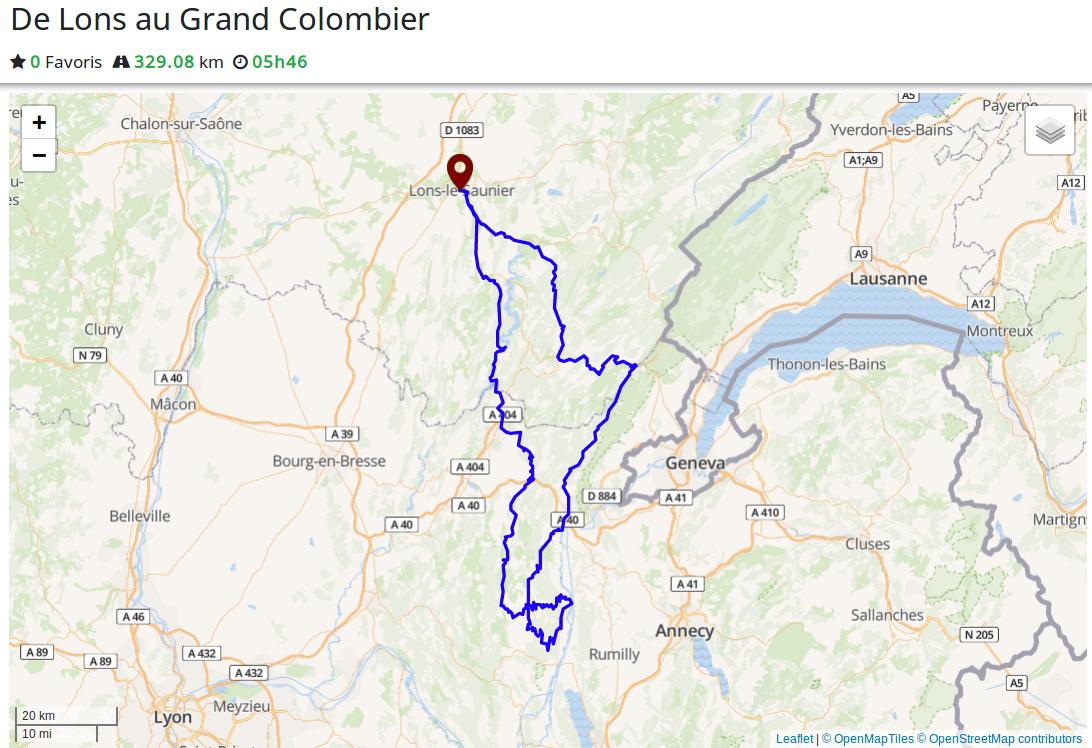 Road trip : de Lons-le-Saunier au col du Grand Colombier
