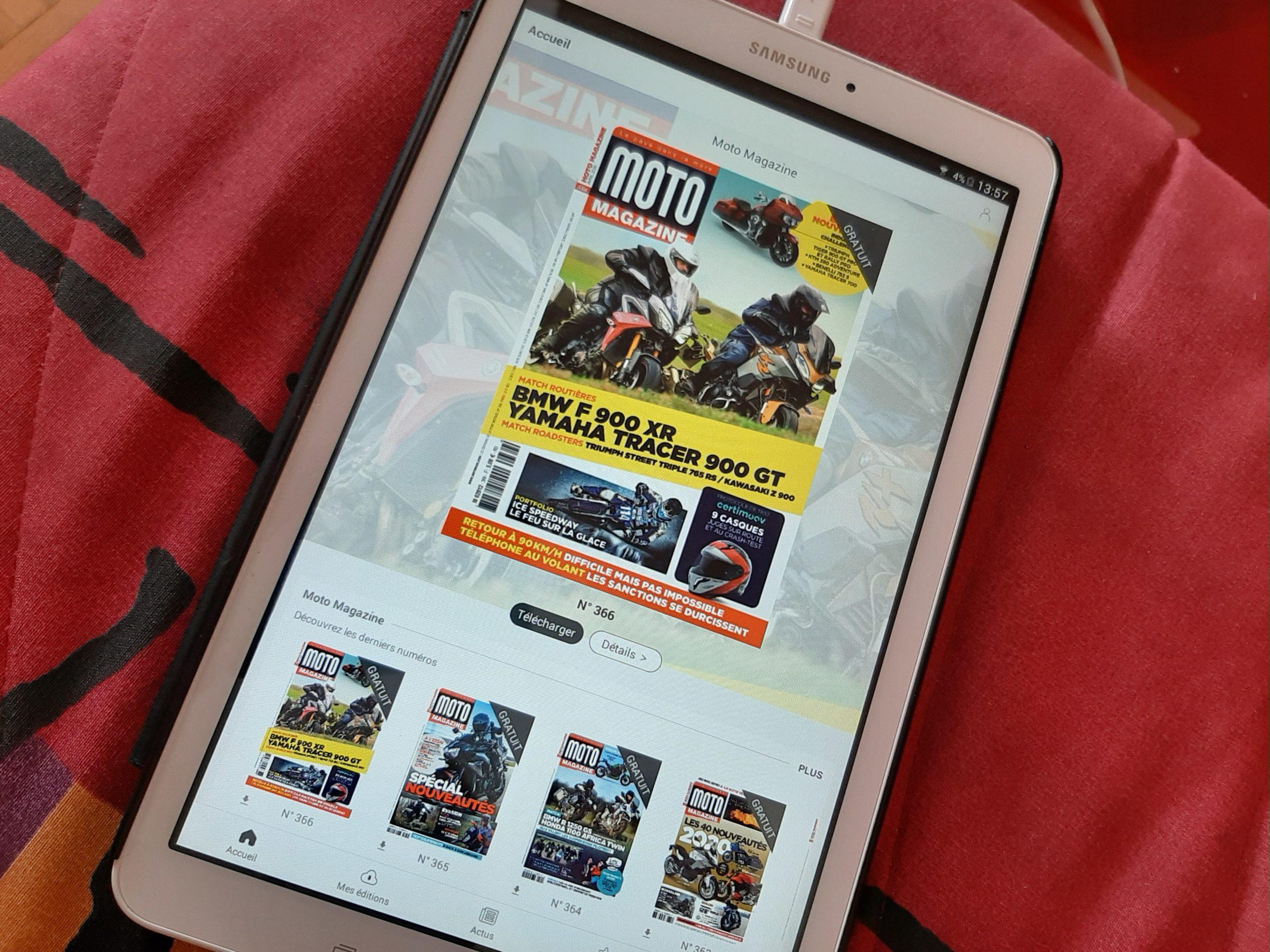 Coronavirus: pendant le confinement, Moto Magazine en accès libre sur smartphone et tablette