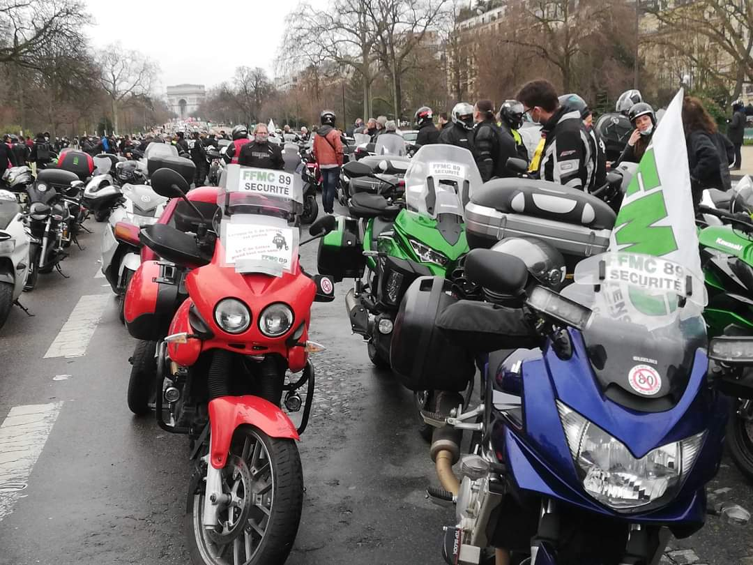 Manif samedi 20 février 2021 : motards, il est temps de se bouger !